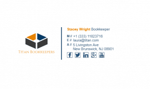 Email Signature Example for Bookkeeper