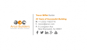 Email Signature Example for Builder
