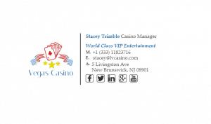 Email Signature Example for Casino