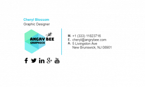 Email Signature Example for Graphic Designer