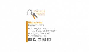 Email Signature Example for Mortgage Broker