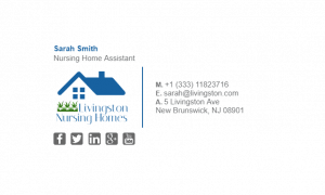 Email Signature Example for Nursing Home