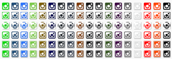 ZippySig Social Icons Instagram