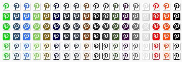 ZippySig Social Icons Pinterest