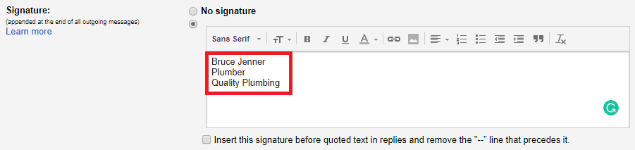 How to Add a Logo to Your Gmail Email Signature