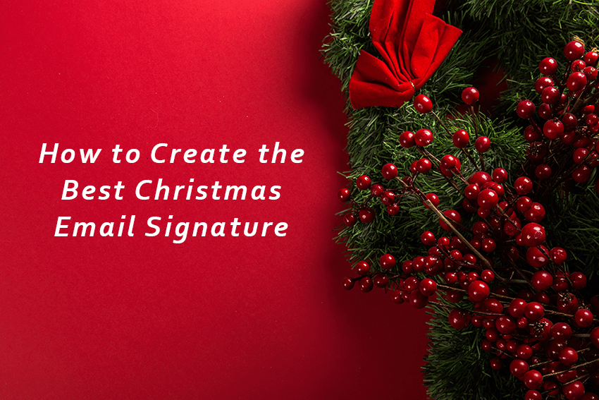 Christmas Email Signature