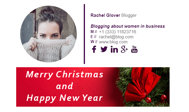 How to Create the Best Christmas Email Signature   Gimmio