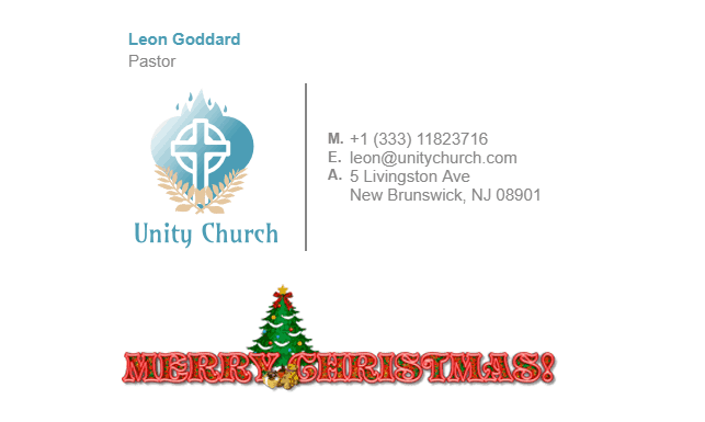 Email Signatures for Christmas   Gimmio