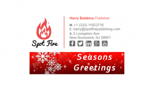 Email Signature for Christmas