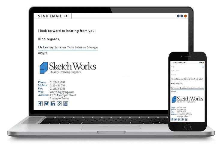 Leeroy Jenkins - Email Signature Example