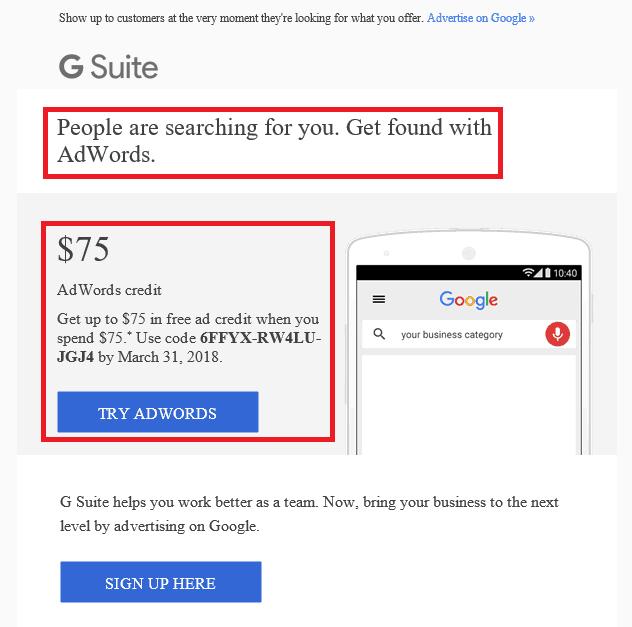 Google Personalized Marketing