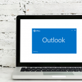 Outlook Loading Laptop