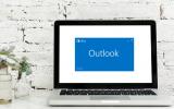 Outlook Loading Laptop