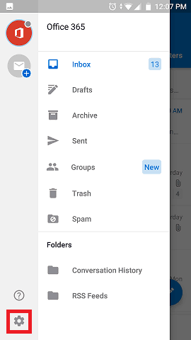 How to Add an Email Signature in Outlook App on Android | Gimmio