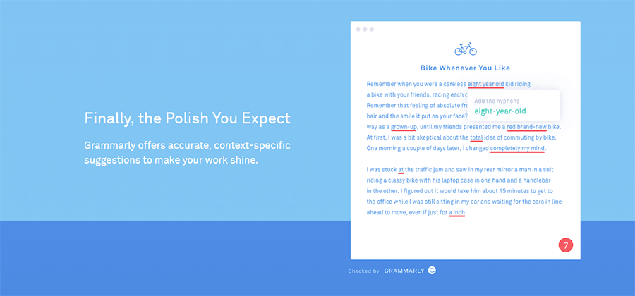grammarly website