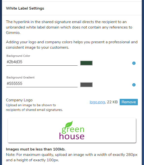 white label email signature generator