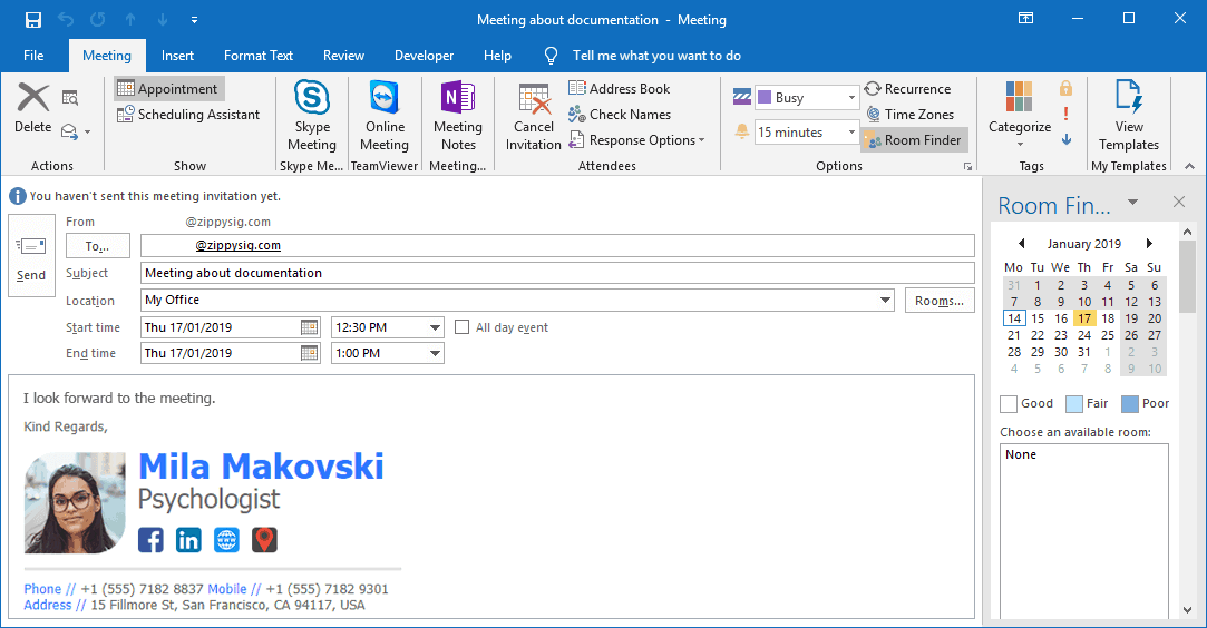 How to Automatically Insert Email Signatures into Outlook
