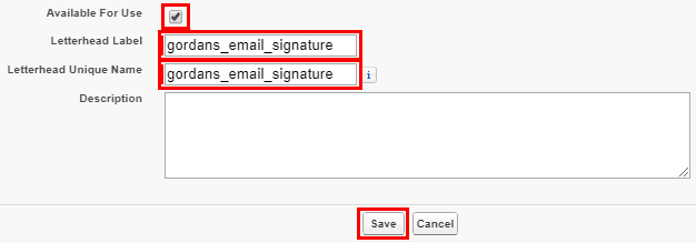 Add Email Signature Salesforce 4