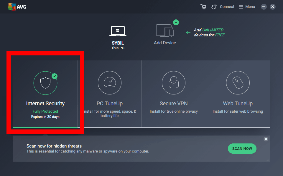 avg-management-console
