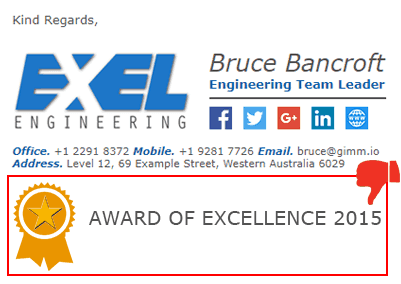 email-signature-with-award