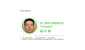 Email Signature Example for Contractors