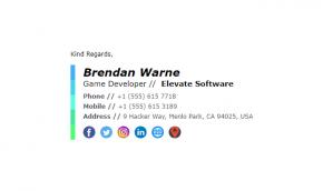Email Signature Example for Design Agencies