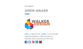 300+ Professional Email Signature Examples | Gimmio (formerly ZippySig)